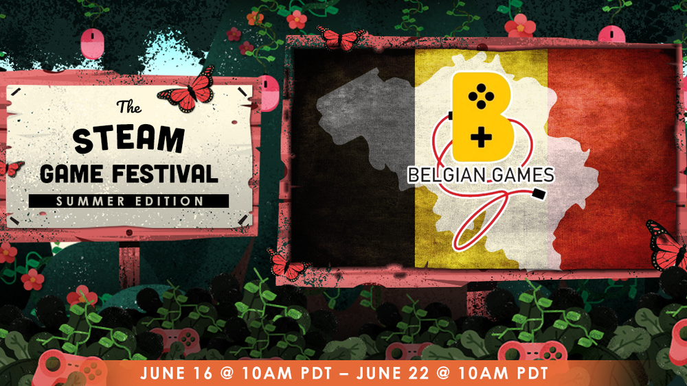 Belgian Games at Steam Game Festival